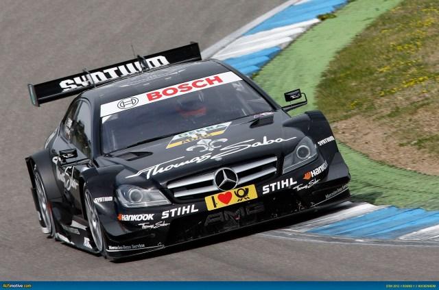 2012 DTM Hockenheim - Mercedes - Paffett