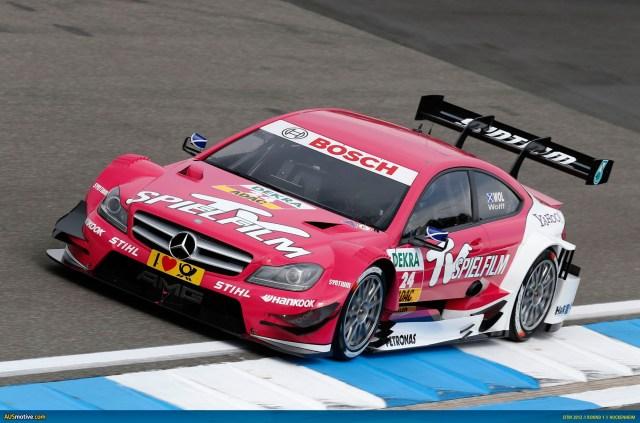 2012 DTM Hockenheim - Mercedes - Wolff