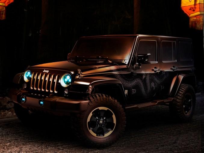 2012 Jeep Wrangler Dragon Concept