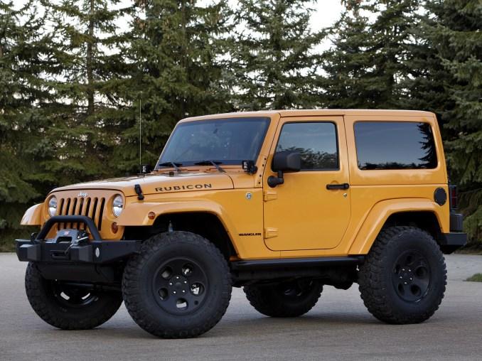 2012 Jeep Wrangler Mopar Accessorized Concept