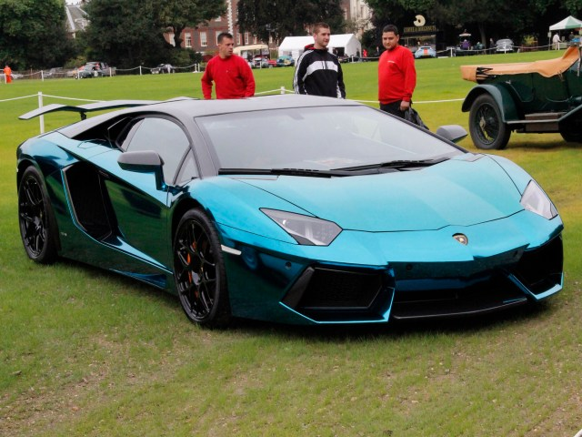 Lamborghini Aventador lp760-4 Dragon Edition 2012 - Oakley Design