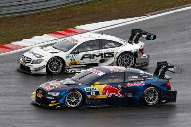 2013 DTM Nurburgring - Audi et Mercedes