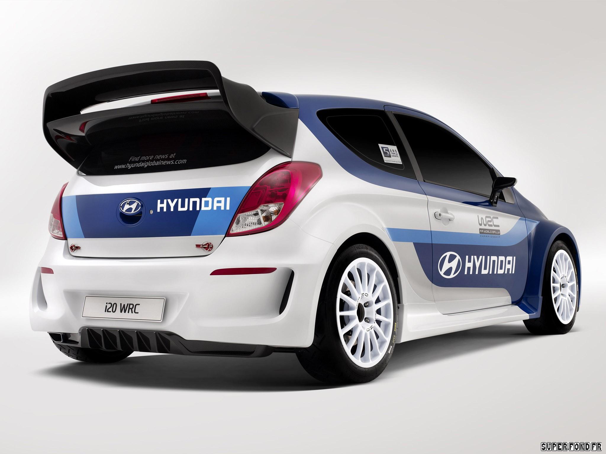 2013 Hyundai i20 WRC