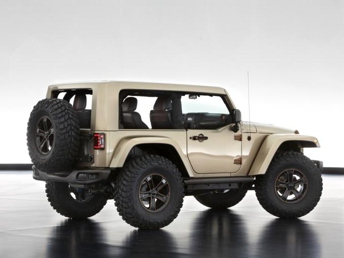 2013 Jeep Wrangler Flattop Concept Mopar