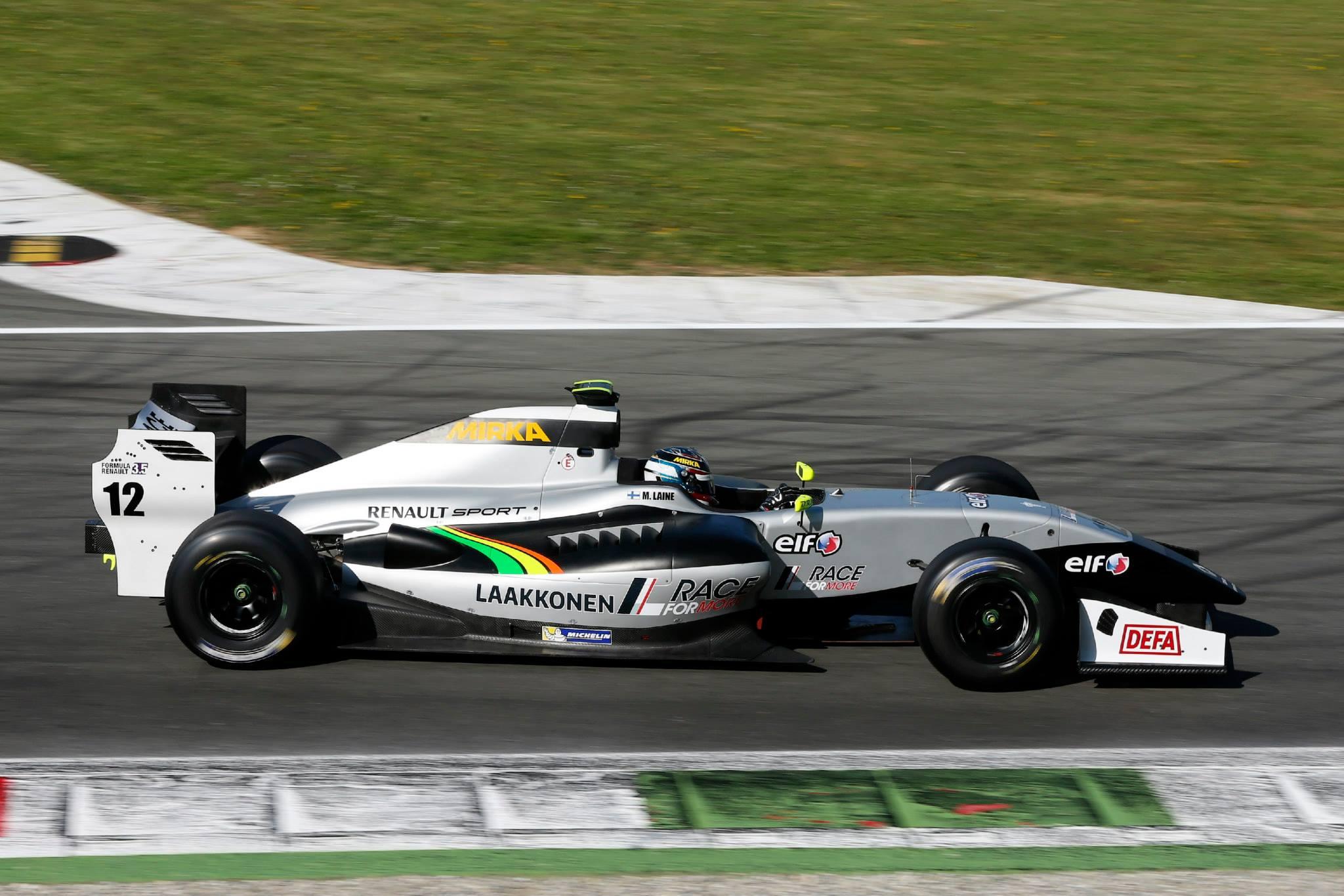 2014 Formula Renault 3.5 Series - Monza - Matias Laine