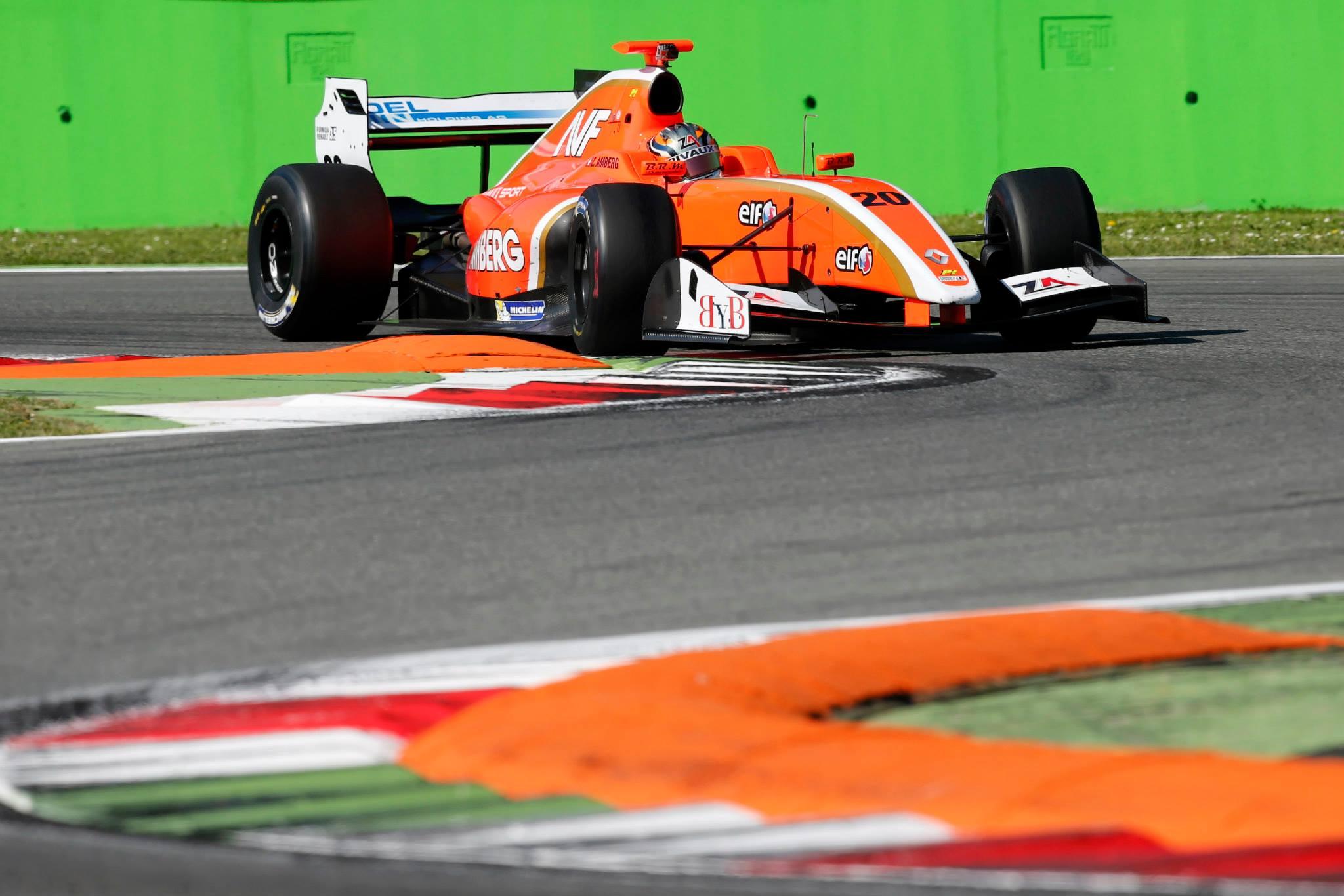 2014 Formula Renault 3.5 Series - Monza - Zoel Amberg