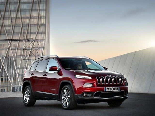 2014 Jeep Cherokee Limited Europe