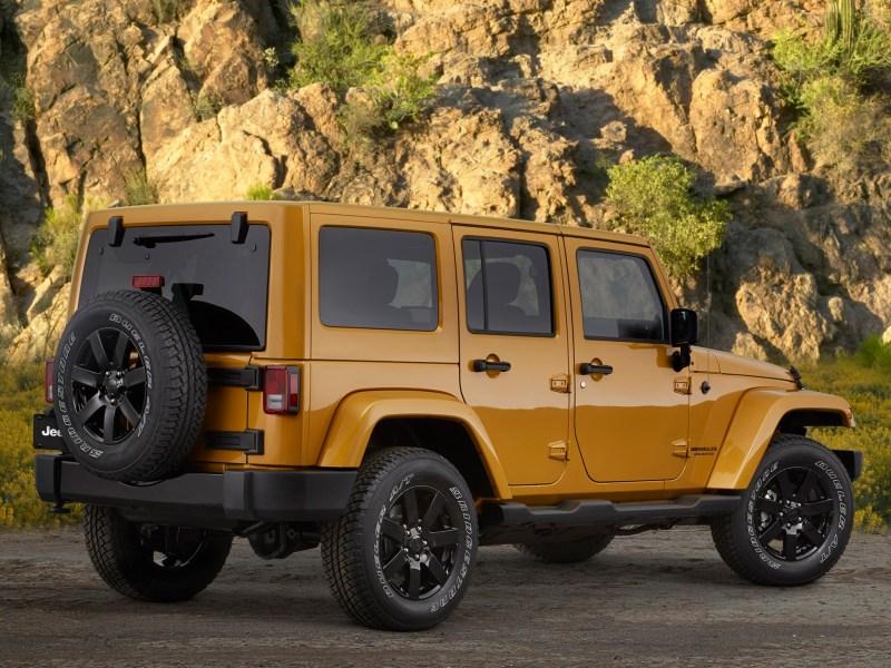 2014 Jeep Wrangler Altitude