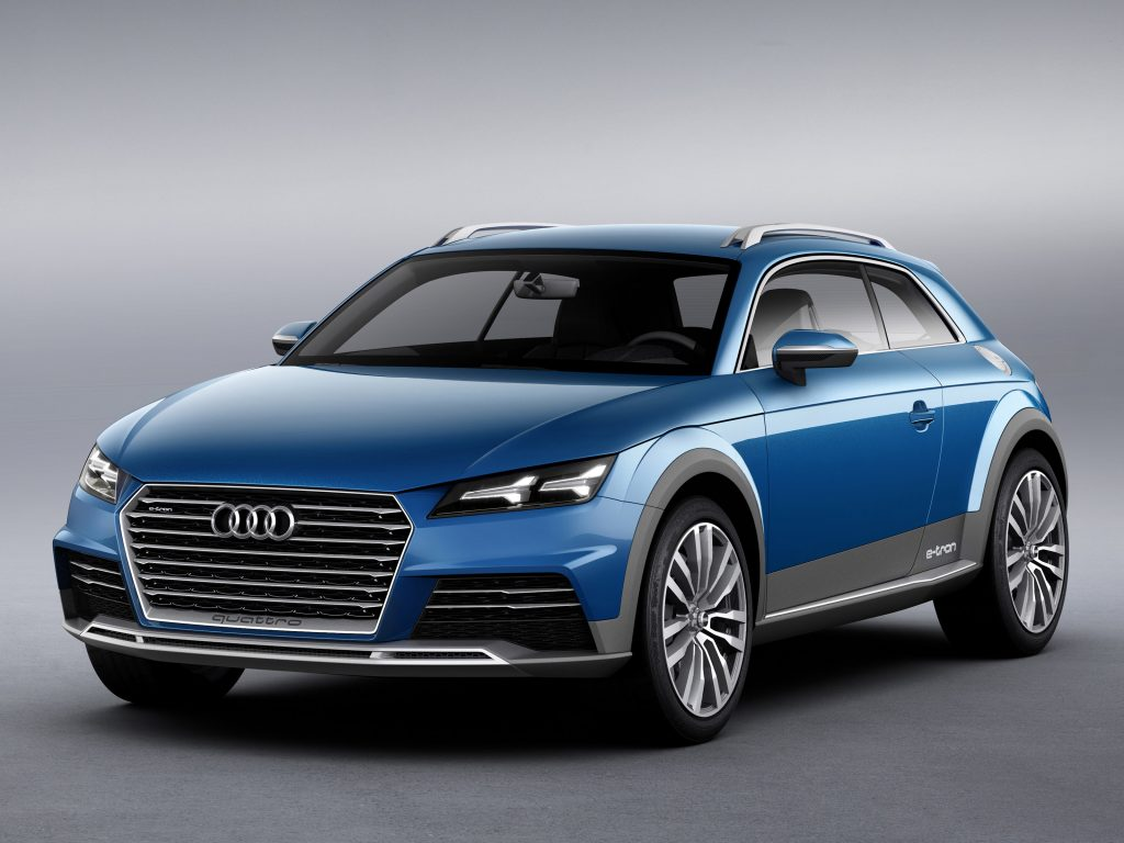 2014 Audi Allroad Shooting Brake E-Tron Concept