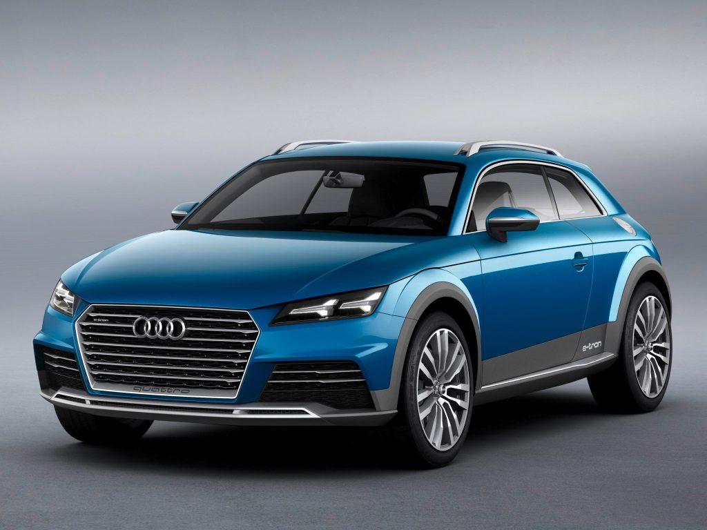 2014 Audi Allroad Shooting Brake E-Tron Concept