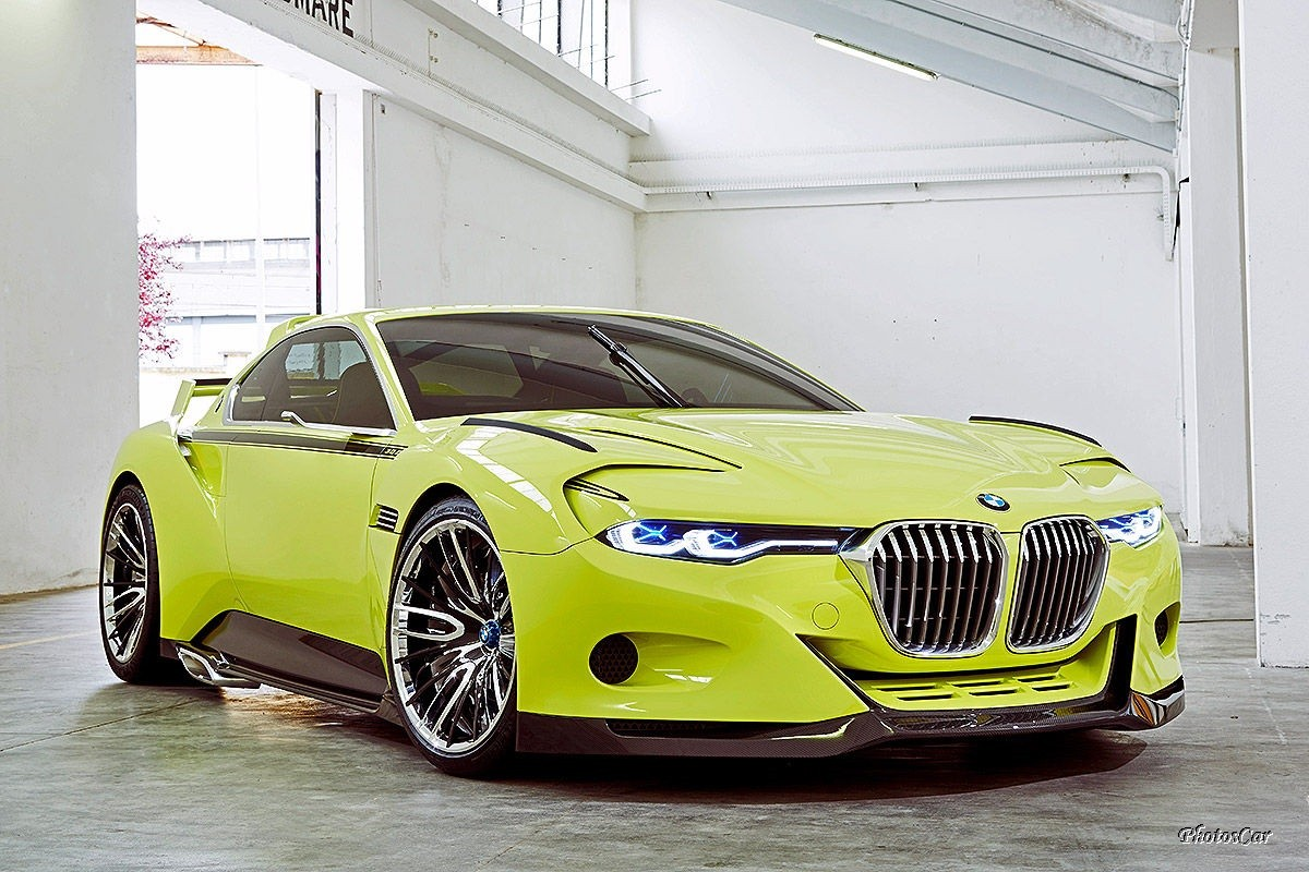 BMW 3.0 CSL Hommage R Pebble Beach 2015