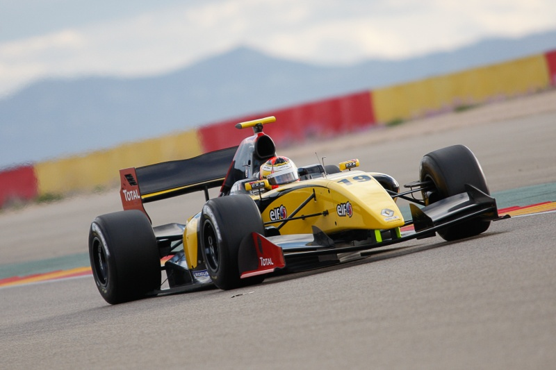 Formula Renault 3.5 Series – Aragon – Sean Gelael 2015