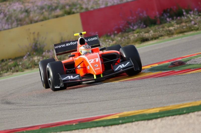 2015 Formula Renault 3.5 Series - Aragon - Will Bratt