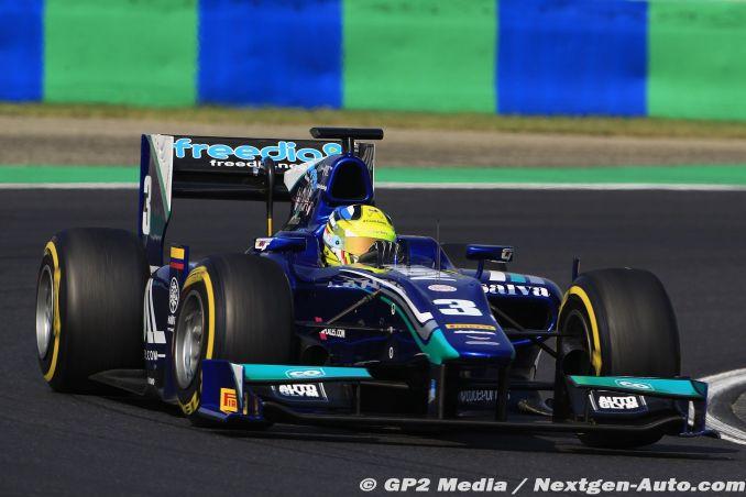 2015 GP2 Hongrie - Dams - Julian Leal
