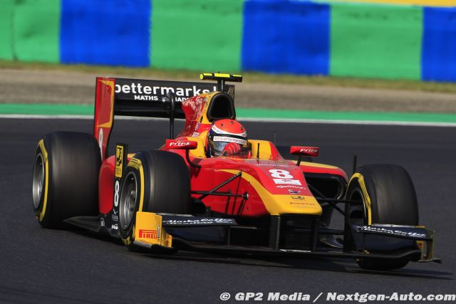 2015 GP2 Hongrie - Racing Engineering - Alexander Rossi