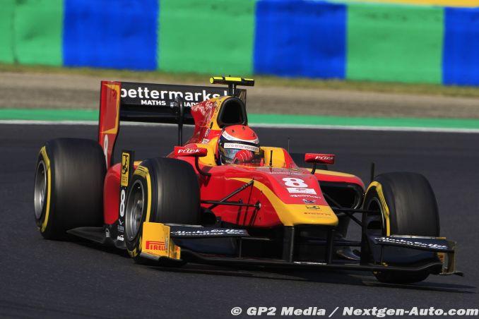 2015 GP2 Hongrie - Racing Engineering - Alexander Rossi
