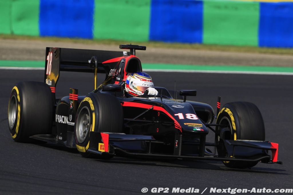 2015 GP2 Hongrie - Rapax - Sergey Sirotkin
