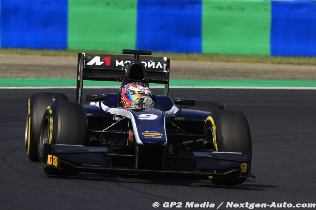 2015 GP2 Hongrie - Russian Time - Mitch Evans