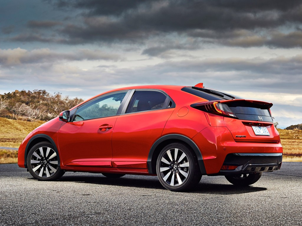 2015 Honda Civic Hatchback Australia