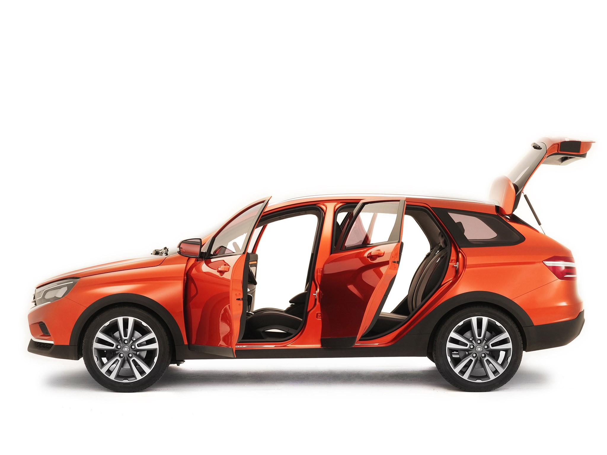 2015 Lada Vesta Cross Concept