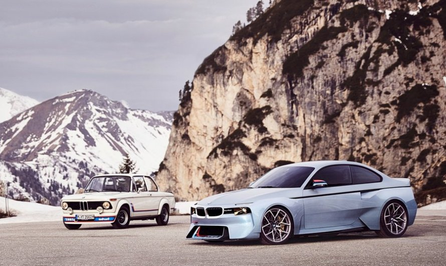 BMW 2002 Hommage – Le concept a été développé à partir d'une M2