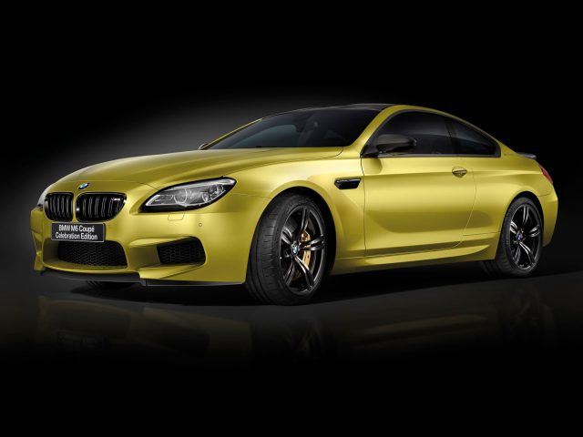2016 Bmw M6 Coupe Celebration Edition Competition F13