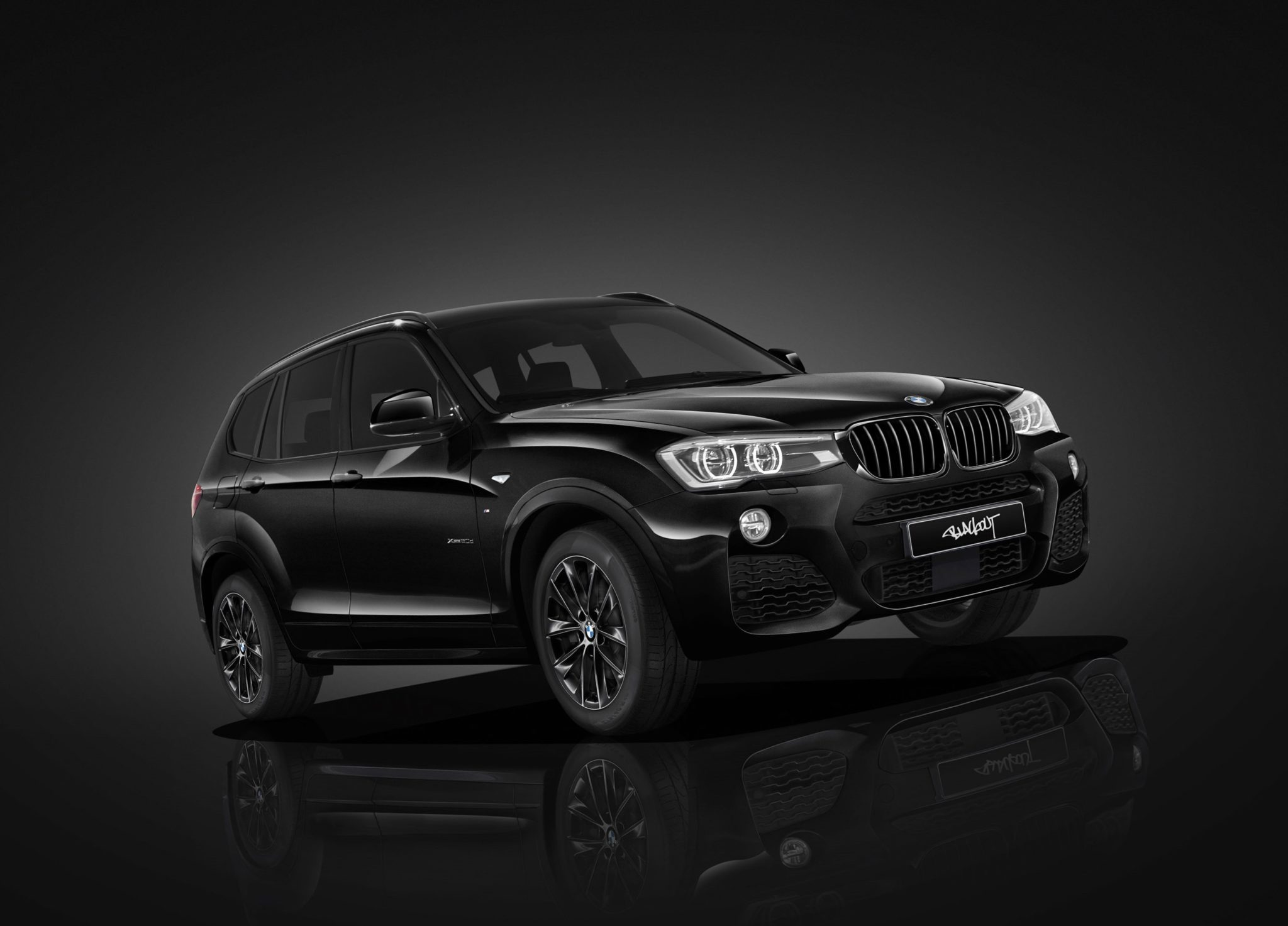 2016 Bmw X3 Xdrive 20D M Sport Blackout F25
