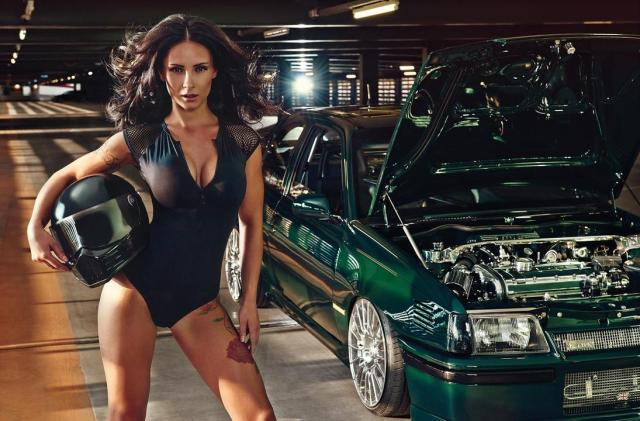 2016 Calendrier Miss Tuning Mai