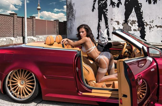 2016 Calendrier Miss Tuning Mars