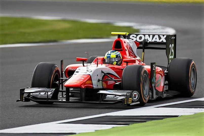2016 GP2 Series Silverstone Jimmy Eriksson