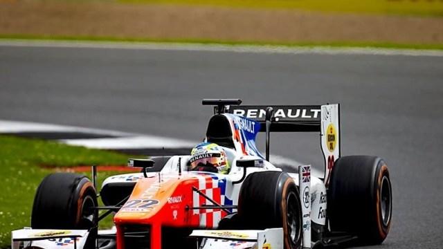 2016 GP2 Series Silverstone Oliver Rowland