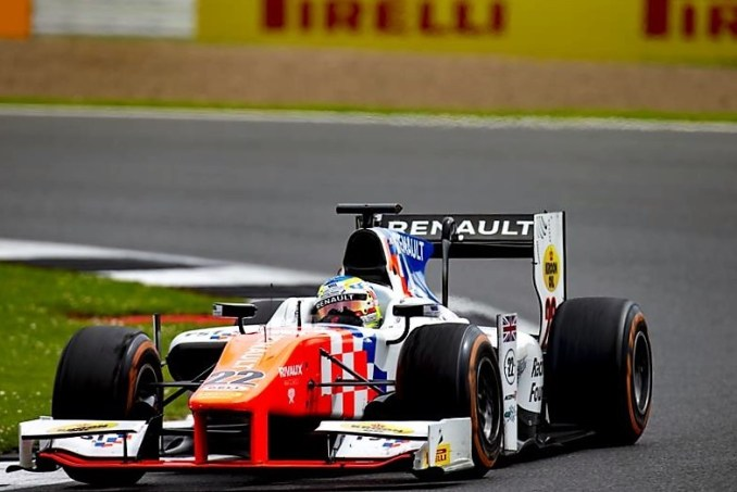 2016 GP2 Series Silverstone Oliver Rowland