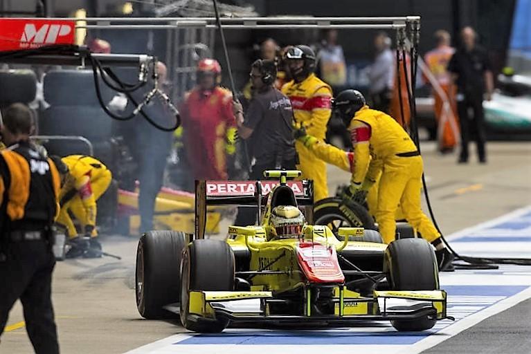 2016 GP2 Series Silverstone Sean Gelael