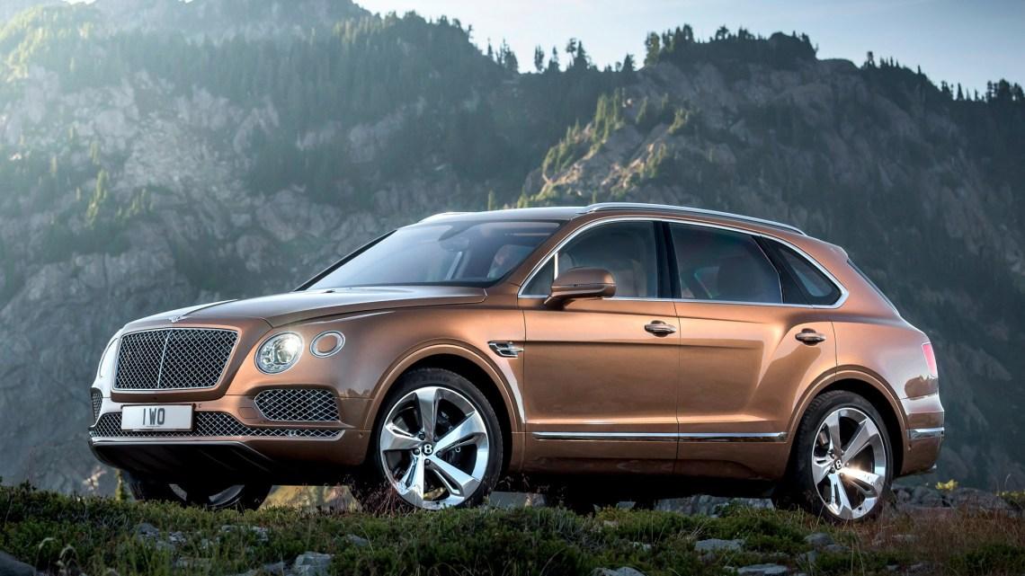 Bentley Bentayga SUV 2016 – Plus puissant et plus luxueux
