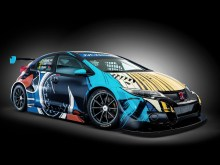 2016 Honda Civic WTCC Art-Car Jean Graton