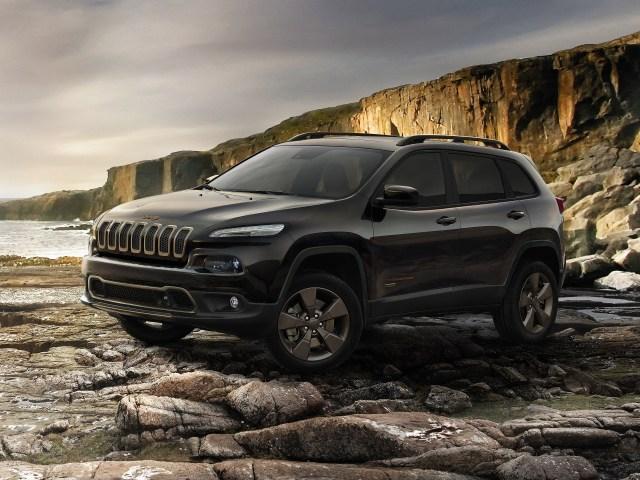 2016 Jeep Cherokee 75th Anniversary Europe