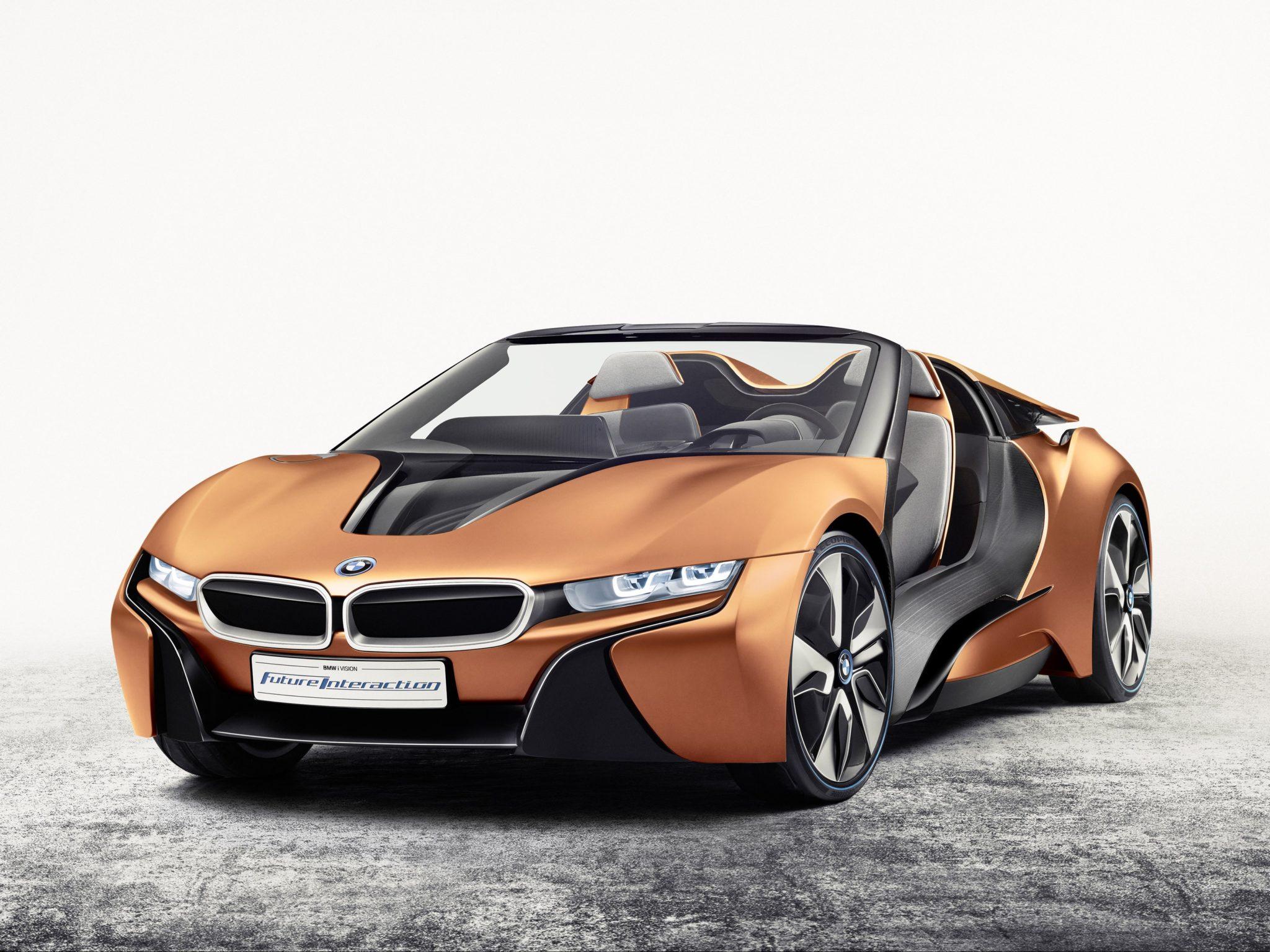 2016 BMW i Vision Future Interaction