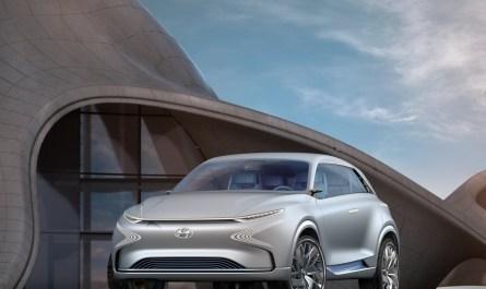 Hyundai FE Fuel Cell Concept 2017