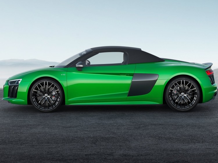 Audi R8 Spyder V10 Plus 2018