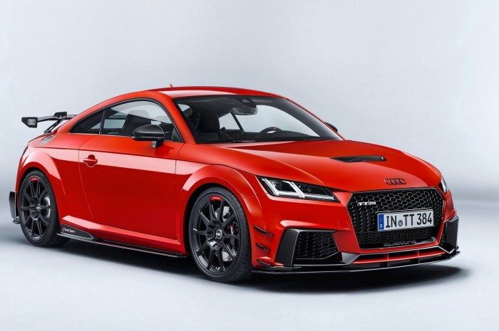 Audi TT RS Performance Parts 2018: Une puissance totale de 400 ch.