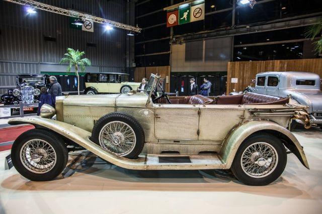 Alfa-Romeo RLS - Maharajas' cars stand - Retromobile 2014