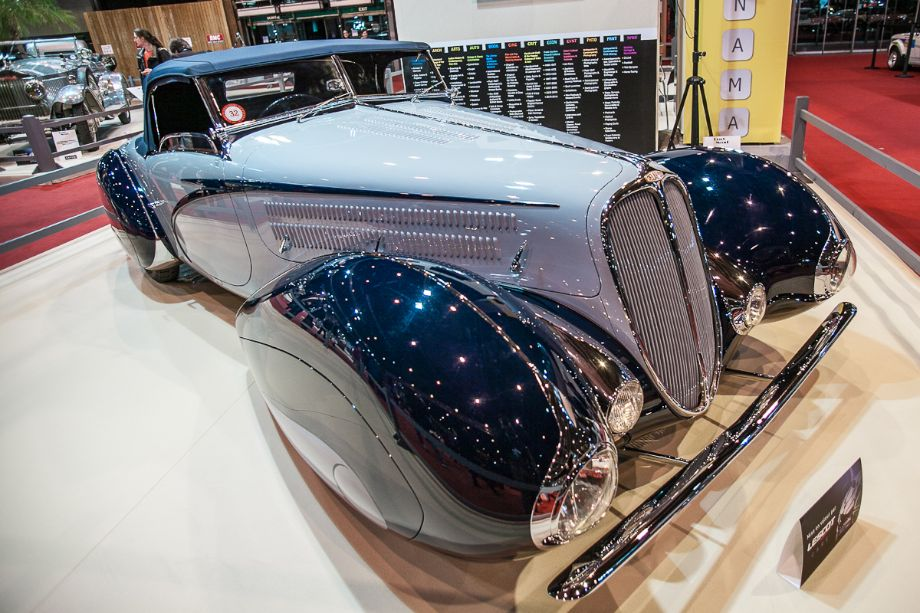 Delahaye 135MS Roadster - Maharajas' cars stand