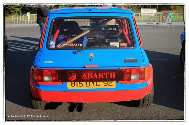 italian meeting - Autobianchi A112 Abarth