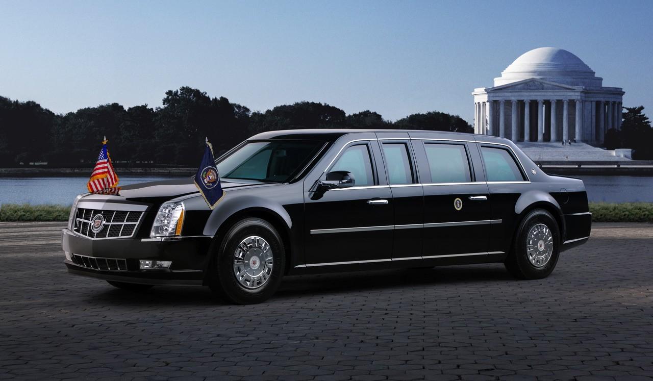 Limousine Barack Obama