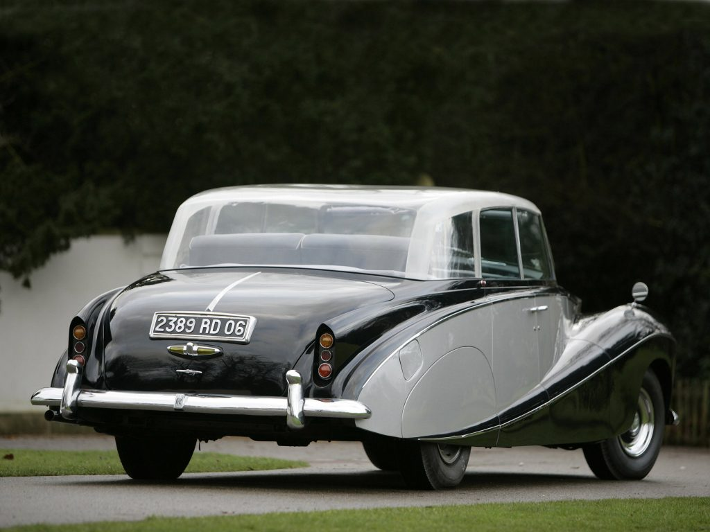 Rolls Royce Wraith Perspex Top Saloon by Hooper 1951 [01]