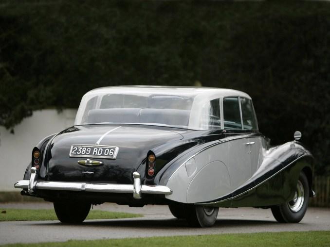 Rolls Royce Wraith Perspex Top Saloon by Hooper 1951 [01]