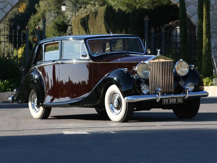 1953 Rolls Royce Silver Wraith Limousine by Hooper