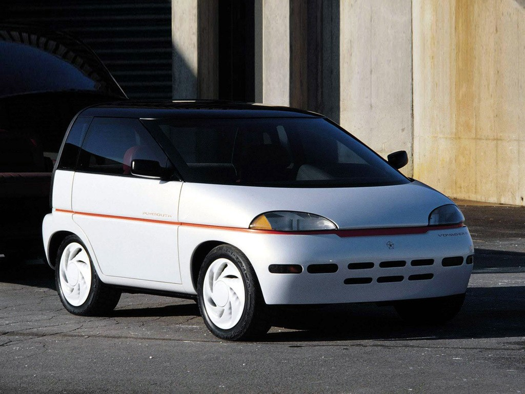 1989 Plymouth Voyager 3 Concept