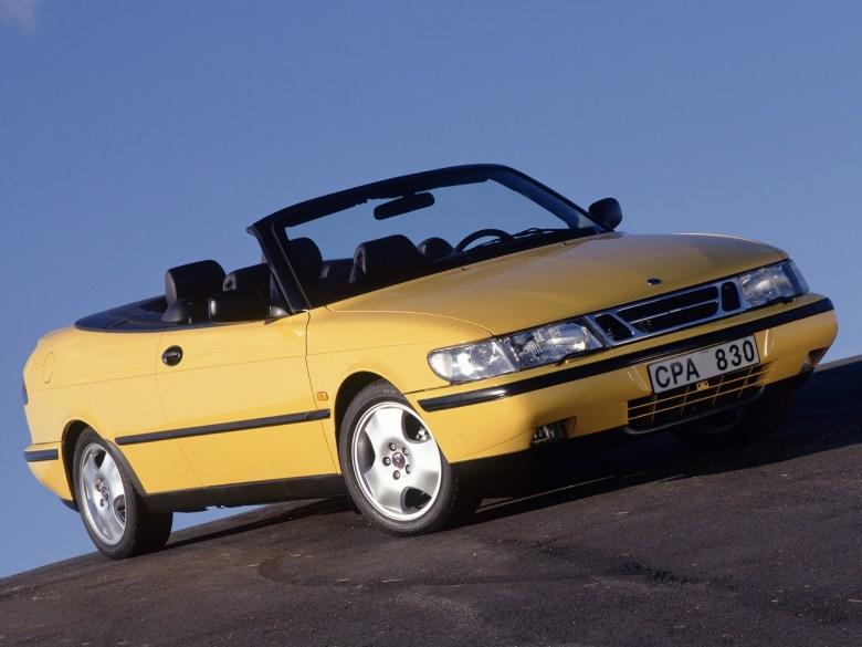 1998 Saab 900 SE Convertible