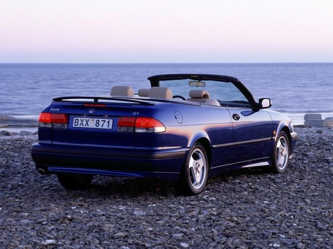 1999 Saab 9-3 Convertible Aero